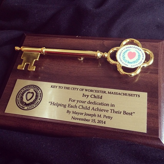 Key to the City of Worcester, Massachusetts