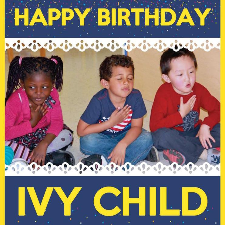 Ivy Child turns 9!
