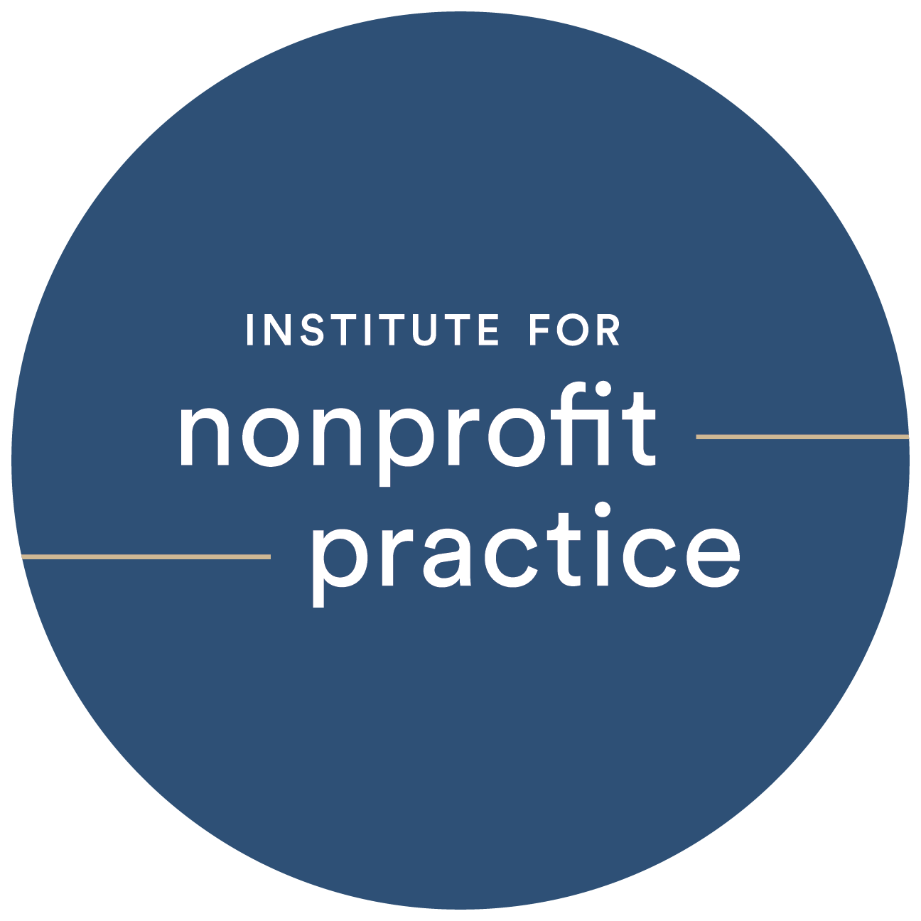 Thank You Institute for Nonprofit Practice!